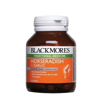 Blackmores Horseradish + Garlic 60's