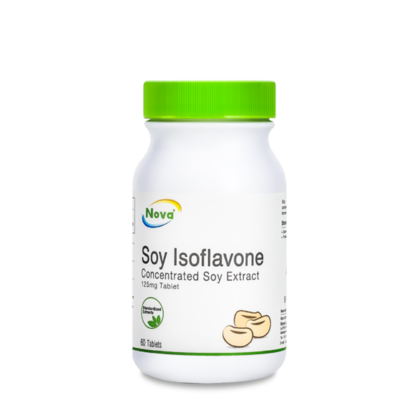 Nova Soy Isoflavone Concentrated Soy Extract 125mg Tablet 60's