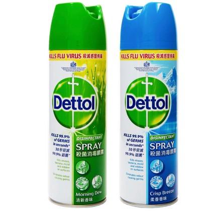 Dettol Disinfectant Surface Morning Dew & Spray Crisp Breeze 225ml
