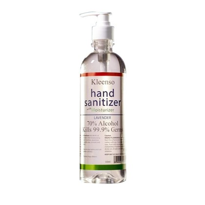 Kleenso Hand Sanitizer 70% Alcohol 500ml