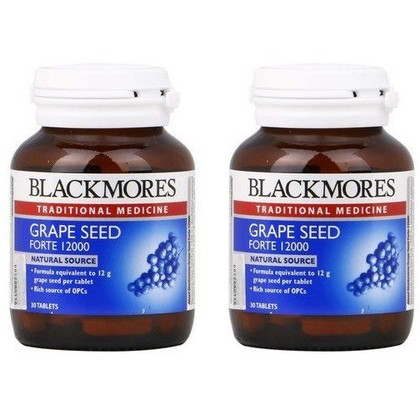 Blackmores Grape Seed Forte 12000 30's x 2