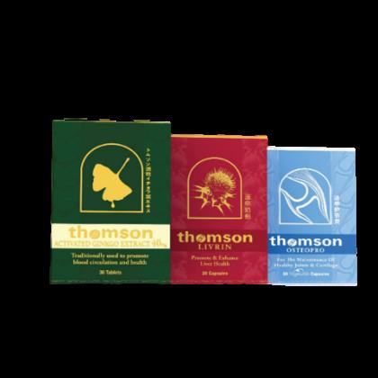 Thomson Gingko 30's+Thomson Livrin 30's + Thomson Osteopro 30's